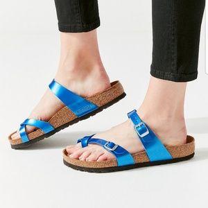 Birkenstock Shoes - Birkenstock Blue Mayari Sandal Sz 8 39